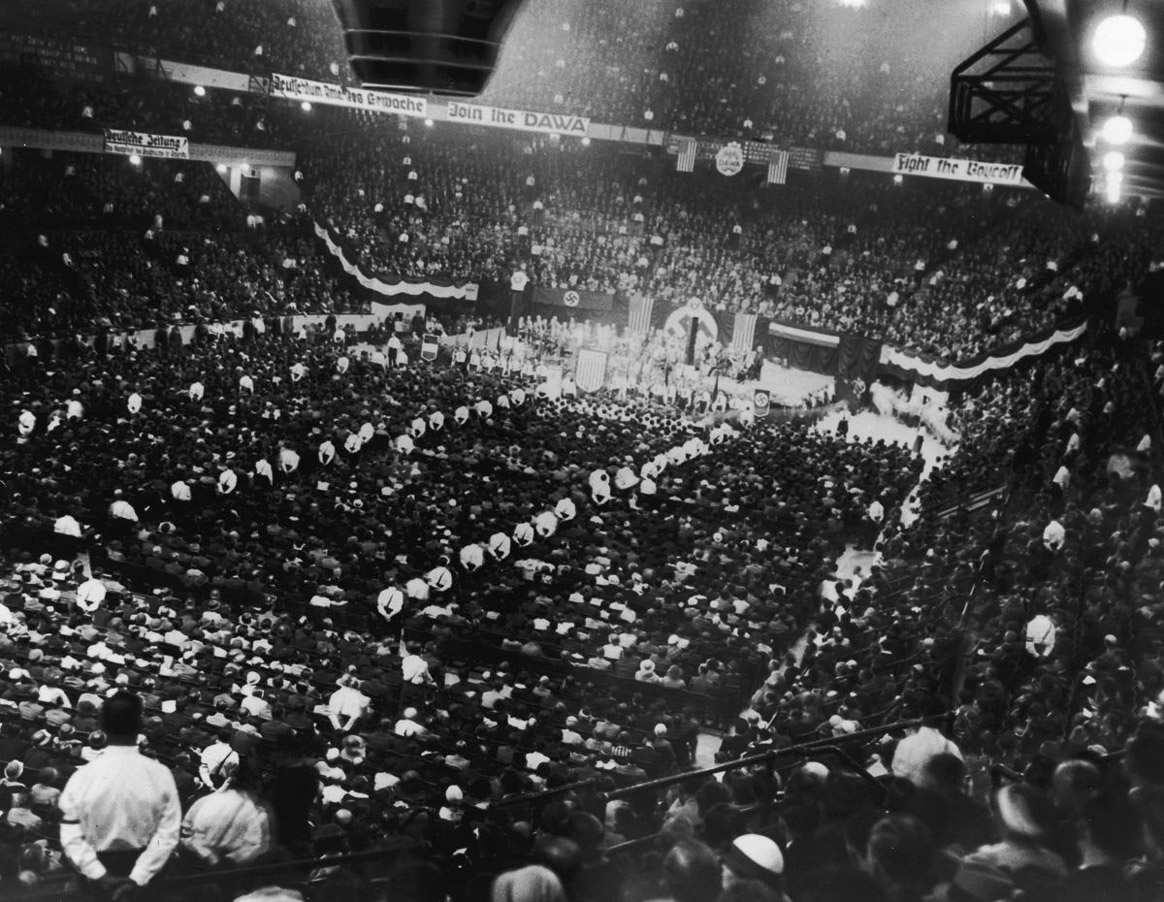 C mourning the ancient - Madison square garden nazi rally ...